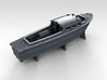 1/400 WW2 RN Boat Set 4 with Mounts 3d printed 35ft Seaplane Tender
