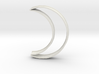Crescent Moon Cookie Cutter 3d printed