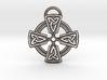 Celtic Cross Keychain 3d printed