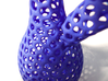 Klein bottle irregular holes weave 3d printed The self intersection close up