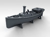 1/450 WW2 RN Boat Set 4 with Mounts 3d printed 45ft Admirals Barge