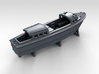 1/350 WW2 RN Boat Set 4 Without Mounts 3d printed 35ft Admirals Launch Mount NOT Included