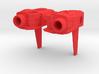 Combiner Wars Alpha Bravo, Blades type arm parts  3d printed