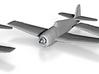 Grumman F6F-5 'Hellcat' 1:200 x3 3d printed