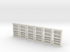 Bookcase 01. HO Scale (1:87) 3d printed