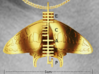 Ogham Butterfly Pendant (Peace) 3d printed