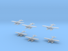 Heinkel HE5 (S5D) 1/1250 and 1/1200 3d printed