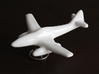 Messcherschmitt Me262 3d printed Me 262 in white ceramic