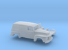 1/87 1948-50 Ford F-1 Panel Truck Two Piece Kit 3d printed