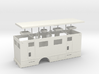 1/50th Hydraulic Fracturing data van body single a 3d printed