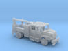 4 Door Signal Truck Maintenance Body With Hi Rail  3d printed