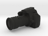 Camera D3000 with Camera Lens - 1/10 3d printed