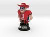 Mini football hero - version red 3d printed