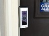 Ring Doorbell Pro 70 Degree Wedge 3d printed Front View