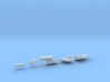 1:350 Scale USS Abraham Lincoln 1996-2006 Update S 3d printed