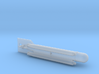 "German Midget Submarine ""Molch"" 1/144 3d printed"