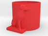 Sam Dog Dr Pepper Coozie 3d printed