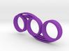 Bi-Swirl Fidget Spinner 3d printed