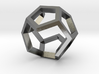 dodecahedron ring  geommatrix  3d printed