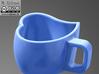 Heart Mug 3d printed