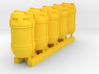 1-48 Shark Hunter Barrel 3d printed