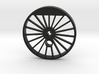 XXL Blind Driver - 19 Spokes, Small Counterweight 3d printed