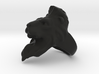 Lion Ring 21.32mm (size 12) 3d printed
