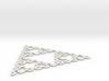 Sierpinski Arrowhead 3d printed