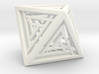 Octahedron Lattice 3d printed