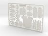 OSCARd Credit Card Action Figure 3d printed