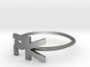 "Parallelkeller Ring ""Elegant Rim PK"" 3d printed"
