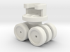 Ikea VIDGA 146961 (Plastic axle version) 3d printed