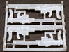 ETS35009 Reibel Machine Gun - 6 types, 2 of each 3d printed The shorted machine guns
