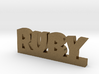 RUBY Lucky 3d printed