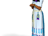 Native Girl Color 6 Inch 3d printed
