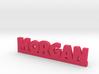 MORGAN Lucky 3d printed