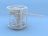 1/96 3 inch 50 cal USN deck gun 3d printed