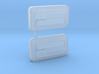 1/10 Pandora EF9 Civic Door Handles 3d printed