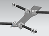 16mm Hd Tube Clamp 3d printed Example of design in uses.