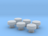 1/32 IJN Mushroom Type Ventilator V2 3d printed