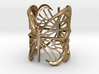 The butterfly embrace ring 3d printed