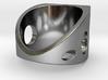 Sail Ring S B 3d printed