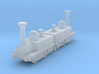 Mountain Locomotive MR. G. BELL 1I200 3d printed