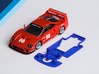 1/32 Fly Ferrari F40 Chassis for Slot.it AW pod 3d printed Chassis compatible with Fly Ferrari F40 body (not included)