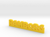RAMBORG Lucky 3d printed