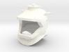 Nautilus Helmet Capped Earholes 3d printed