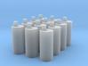 BACK FUTURE 1/8 EAGLEMOS PLUTONIUM BOX BOTTLES 3d printed