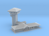 Golden Spike Tower and main building Z 3d printed Golden Spike Z scale