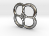 Contemporary Flower pendant  3d printed