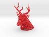 Deer Head wall mount 3d printed